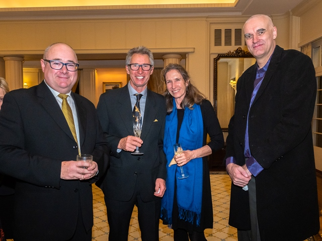 Doug Purdie, Stuart Anderson, Margaret Wainwright, Dermot AsIs Sha'Non ©Lyndal Curtis