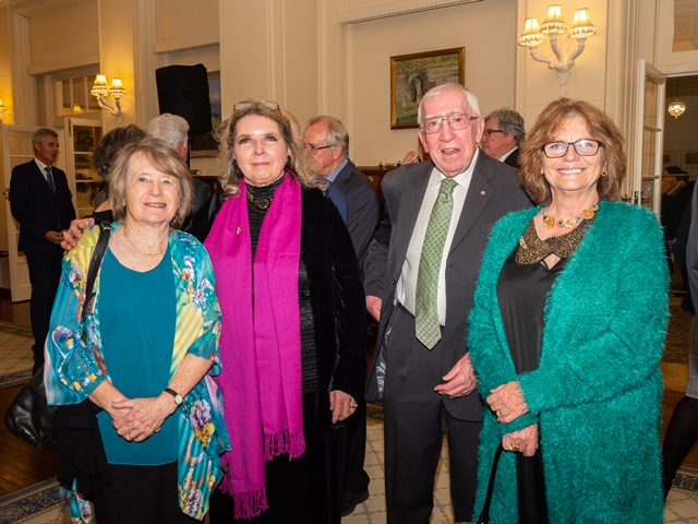 Pat Armstrong (ESRAG), Liz and John McCaskill (Rotary for Bees), Yvonne Robson (Rotory) ©Lyndal Curtis